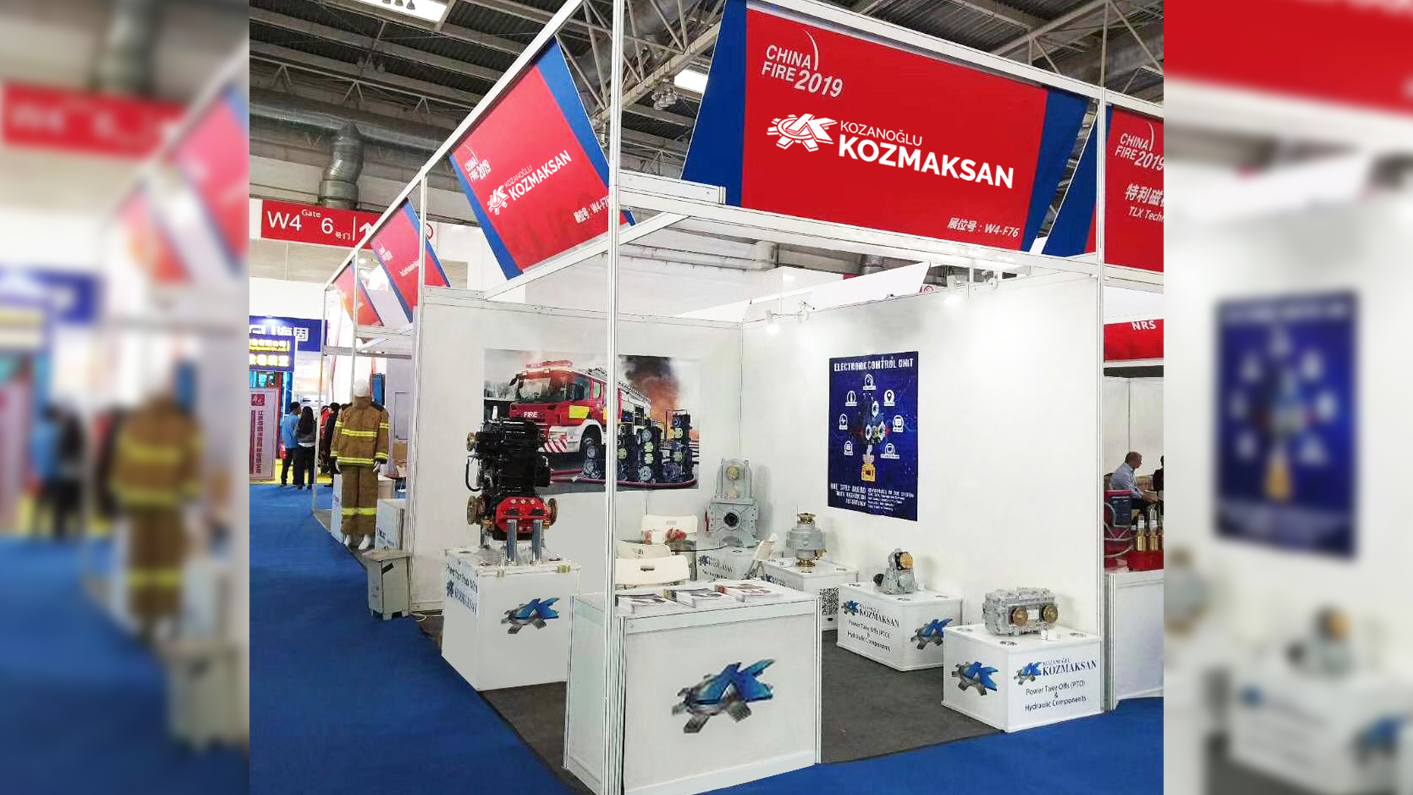 PTO KOZMAKSAN Has Participated To China Fire 2019!