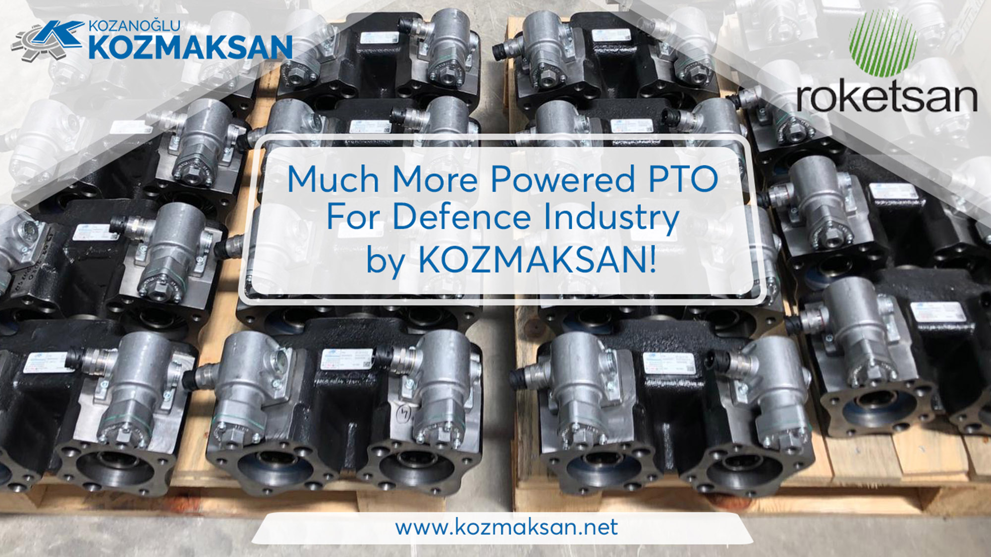 Much More Powered PTO For Defence Industry by KOZMAKSAN!
