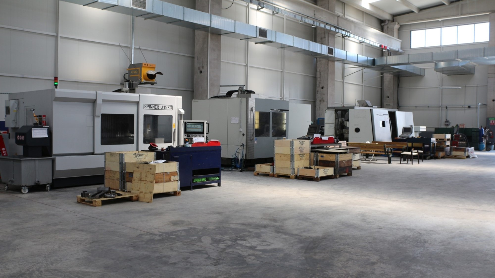 New CNC Machines In Our Equipment Pool