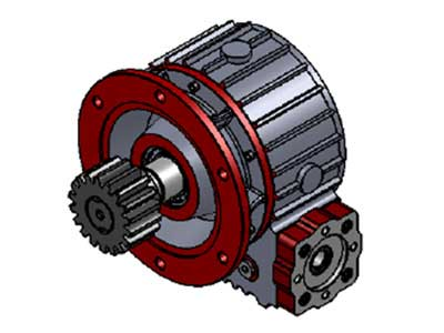 Worm Gear Mechanism-KRD.06