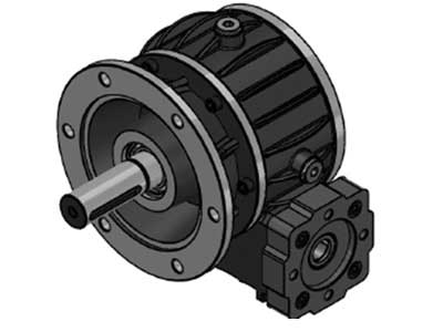 Worm Gear Mechanism-KRD.07